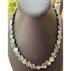 Abalone Bow Necklace
