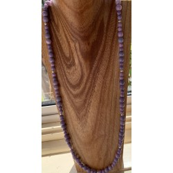 Lavendar Opal Necklace