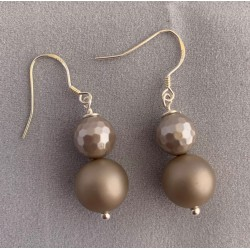 Frosted shell Earrings