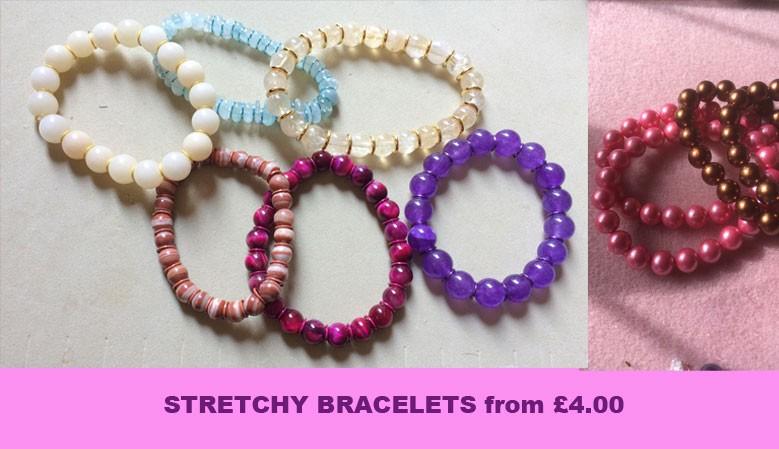 Hippy  Chic - Stretchy Bracelets